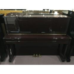 W.Hausmann Pianoforte verticale 118 mogano usato