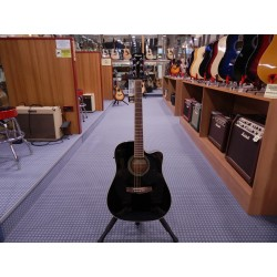 Ibanez PF15ECE-BK chitarra acustica elettrificata