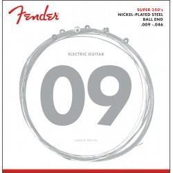 Fender Super 250 Guitar Strings 250LR nps ball end 9-46