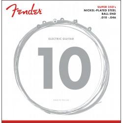 Fender Super 250 Guitar Strings Ball End 10-46