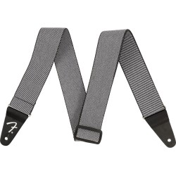 "Fender WeighLess 2"" Tweed Strap White"