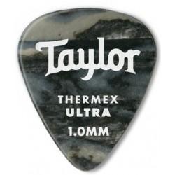 Taylor Confezione da 6 plettri Premium 351 Thermex Guitar Picks Black Onyx 1,25 mm