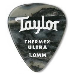 Taylor Confezione da 6 plettri Premium 351 Thermex Guitar Picks Black Onyx 1,5 mm