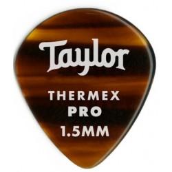 Taylor Confezione da 6 plettri Premium 651 Thermex Pro Guitar Picks Tortoise Shell 1,5 mm