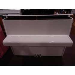 Wilh.Steinberg Pianoforte verticale usato bianco
