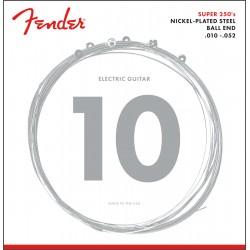 Fender Super 250 Guitar Strings NPS Ball End 10-52