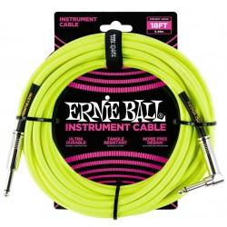 Ernie Ball 6085 Cavo Braided Neon Yellow 5,49 m