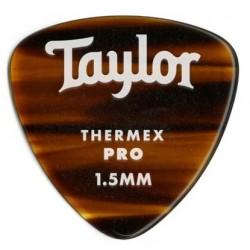 Taylor Confezione da 6 plettri Premium 346 Thermex Pro Guitar Picks Tortoise Shell 1.5 mm