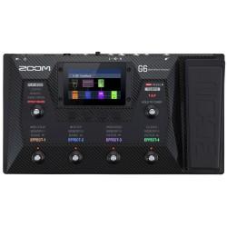 Zoom G6 Pedaliera multieffetto e IR loader per chitarra