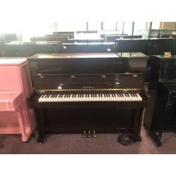 Pearl River Pianoforte verticale silent 118 noce usato