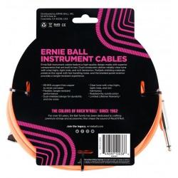Ernie Ball 6084 Cavo Braided Neon Orange 5,49 m