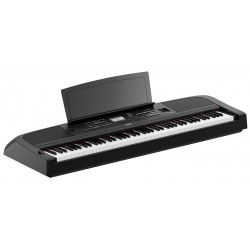 Yamaha DGX-670 Pianoforte digitale nero 88 tasti Graded Hammer