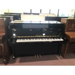 Hermann Pianoforte verticale nero usato