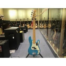 Fender American Professional II Precision Bass V Miami Blue