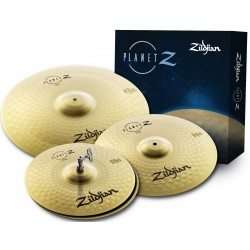 Zildjian Cartone 4 Planet Z (ZP4PK): ride + hi-hat + crash