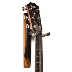 Taylor Guitar Wall Hanger Ebony, No Inlay