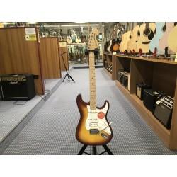 Fender Affinity Series Stratocaster FMT HSS White Pickguard Sienna Sunburst