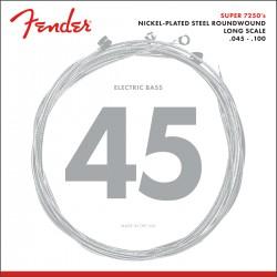 Fender 7250 Bass Strings Long Scale  .045-.100 Gauges