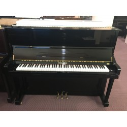 Strausser K-121 pianoforte verticale nero lucido