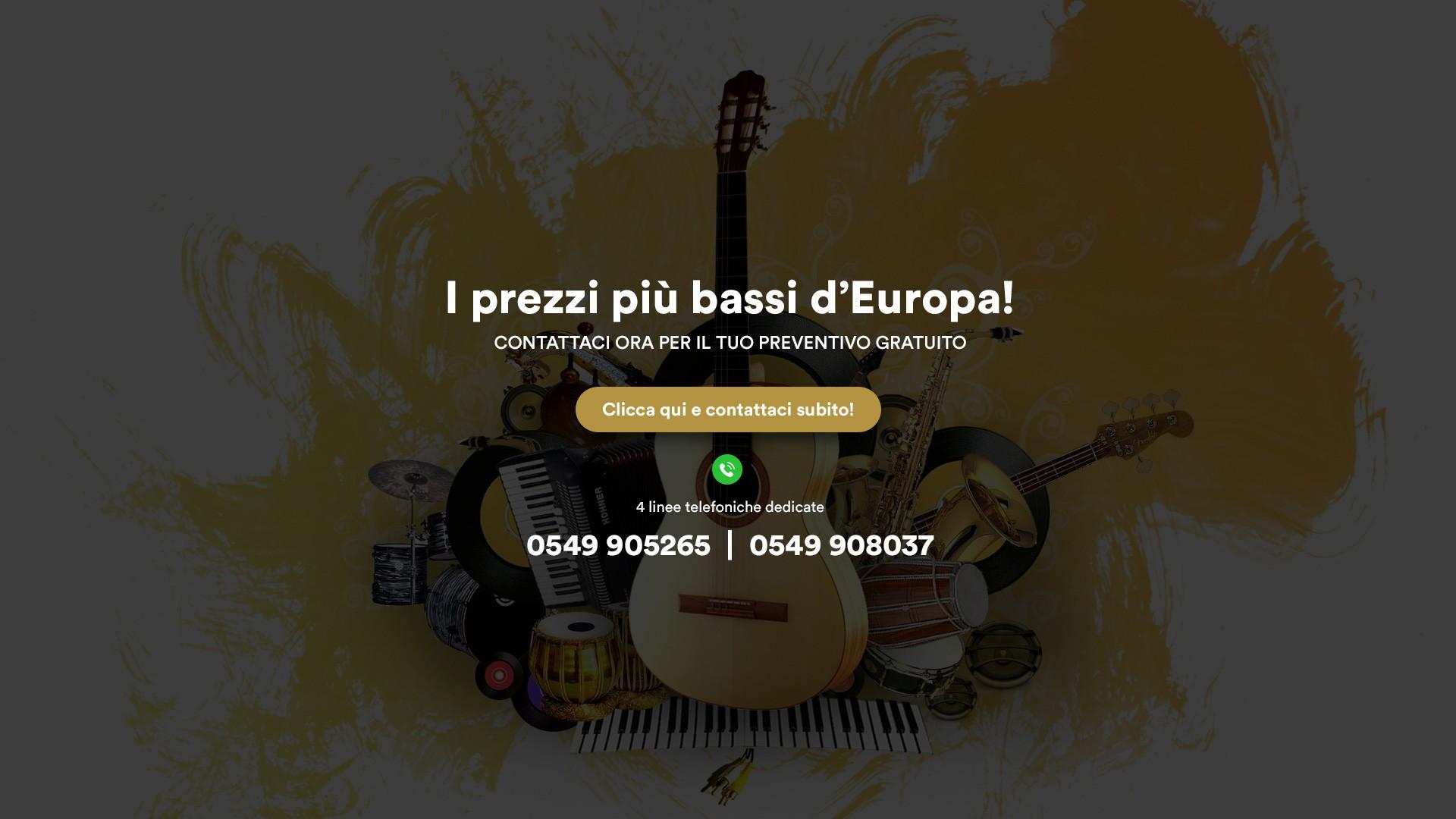 Strumenti musicali San Marino - Strumenti Musicali Marino Baldacci
